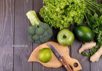 سبزیجات ماهیچه ساز