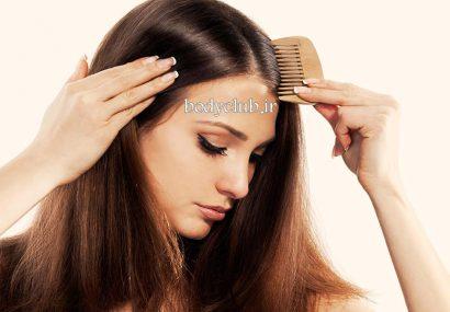 رشد مو با استفاده از مواد غذایی
