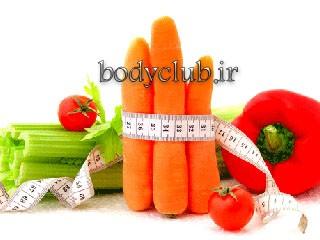 چربی سوزی با سبزیجات و میوه ها