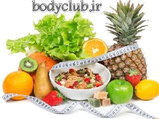 تناسب اندام بارژیم غذایی سالم