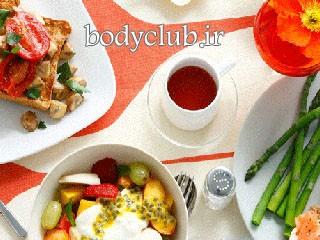 لاغری شکم با مواد غذایی