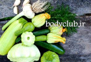 چربی سوزی و لاغری با مصرف کدو سبز