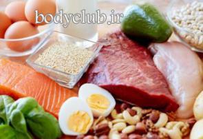 بررسی رژیمهای پروتئینی