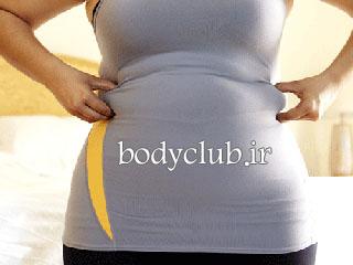 آب کردن شکم بزرگ و کاهش وزن بعد زایمان