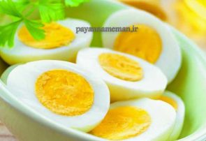 کاهش وزن با رژیم تخم مرغ
