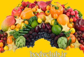 معرفی رژیم غذایی رنگین کمانی