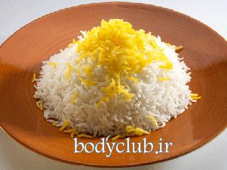 آیا خوردن برنج باعث بزرگ شدن شکم می شود؟
