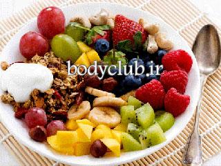 از بین بردن چربی شکم با میوه