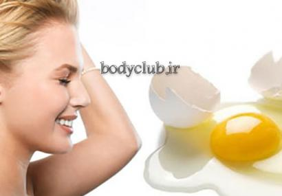 زیبایی پوست و مو با ماسک تخم مرغ